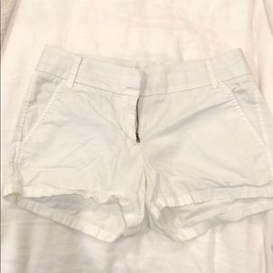 WHITE JCREW SHORTS SIZE 00